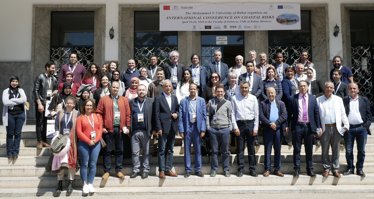 Rabat conference-group photo